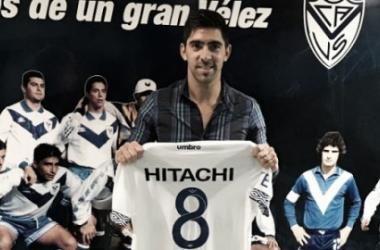 Gastón Diaz al volver al club este año l Fuente: Velez Sarsfield Oficial