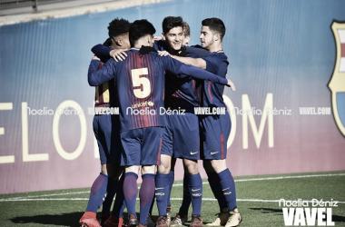 Jugadores del Juvenil B, entre ellos los internacionales Sub17 l Foto: Noleia Déniz - VAVEL