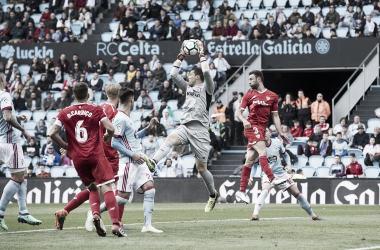 David Soria competía con Sergio Rico por un puesto. Foto: Sevilla FC.
