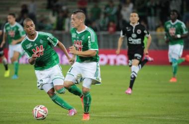 Saint-Etienne à la relance contre Lorient