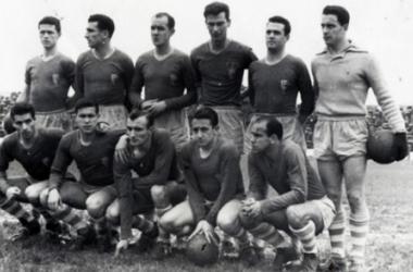 Uno de los primeros onces celestes en los años 30-40 | Fuente: RC Celta