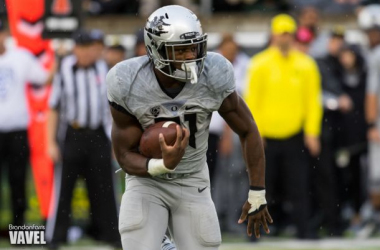 Royce Freeman will be the key for the Ducks if they hope to win in Seattle. - Photo by Brandon Farris - VAVEL USA