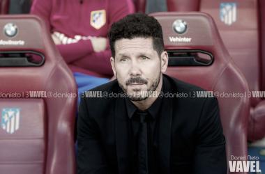 """Diego Simeone mostra confiança em título espanhol: """"Ainda estamos empolgados"""""""