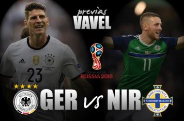 Qualificazioni Russia 2018 - La Germania (di nuovo) all'esame Irlanda del Nord