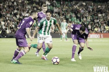 Cejudo se perderá el partido frente a las Palmas tras ver la quinta amarilla