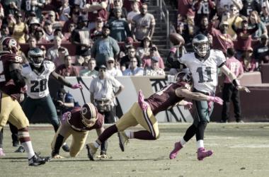 La Wentzmania es real. Wentz se ha situado como líder de los Eagles. Foto: NFL