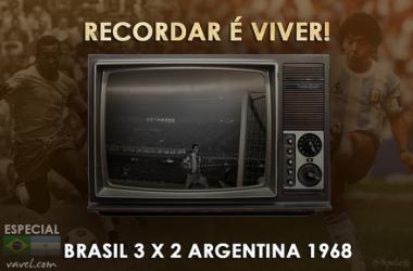 Recordar é viver: em 1968, Brasil e Argentina se enfrentaram pela primeira vez no Mineirão