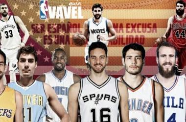 Guía VAVEL NBA 2016/17: España coloniza la NBA