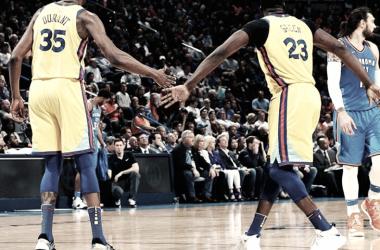 La ofensiva de Golden State Warriors, Kevin Durant y Draymond Green