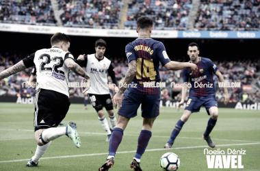 Philippe Coutinho ante el Valencia   Foto de Noelia Déniz, VAVEL