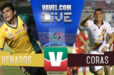 Coras vs Venados en vivo online hoy (0-0)