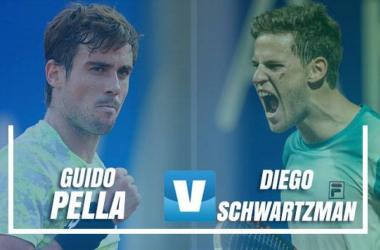Schwartzman y Pella festejan en Copa Davis, mañana serán rivales (Foto: Copa Davis)