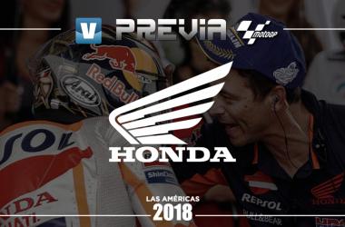 Previa HRC GP de las Américas: territorio Honda. | FOTOMONTAJE: Laura Salas