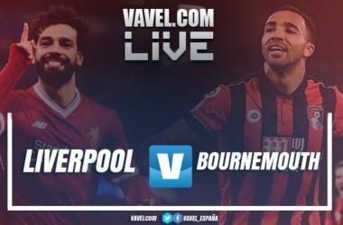 Resumen Liverpool 3-0 Bournemouth en Premier League 2018