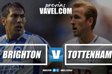 Previa Brighton & Hove Albion - Tottenham Hostpur: a certificar objetivos