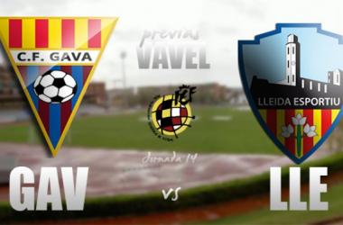 CF Gavà - Lleida Esportiu: necesitados de victoria