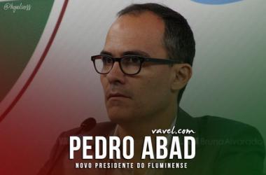 Cerimônia de posse de Pedro Abad, novo presidente do Fluminense
