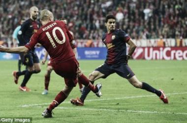 Barcelona x Bayern: do 'totaalvoetbal' a Guardiola, «tiki-taka» está bem vivo