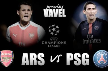Previa Arsenal - PSG: la primera posición busca dueño