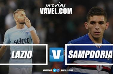 Previa Lazio - Sampdoria: en busca de una victoria europea