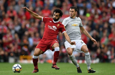 مانشستر يونايتد لايقاف محمد صلاح والمد الهجومي لليفربول