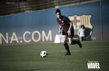 Marta Torrejón, jugadora del FC Barcelona. FOTO: Noelia Déniz