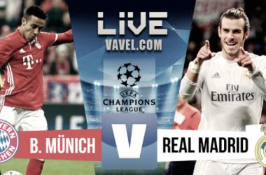 Bayern Monaco-Real Madrid in diretta, LIVE Champions League 2017/18: vince ancora il Real, Bayern battuto e finale vicina! (1-2)