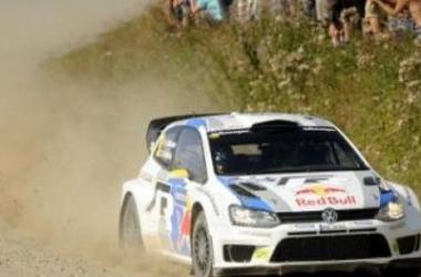 Mikkelsen, outsider en Australie avec sa Polo R WRC (VW)
