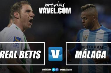 Previa Real Betis - Málaga CF: a asegurar europa y evitar la última posición de la tabla