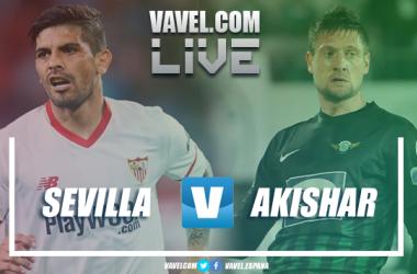 Sevilla FC vs Akhisar en vivo y en directo online en UEFA Europa League 2018. | Imagen: Dani Souto (VAVEL)