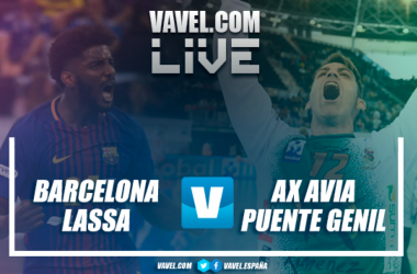 Resumen Barcelona Lassa (36-27) Ángel Ximénez Puente Genil en semifinales de la Copa del Rey 2018