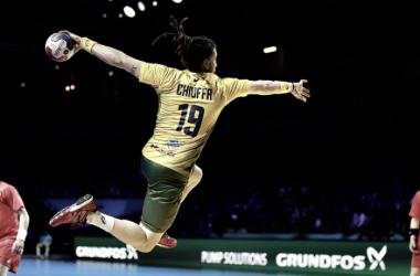Chiuffa, um dos destaques do Brasil na partida (Foto: Divulgação/francehandball2017)