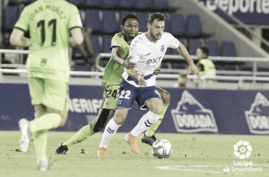 CD Tenerife - UD Almería: puntuaciones de la UD Almería correspondientes a la jornada 18 de LaLiga SmartBank