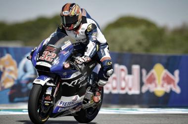 Taiga Hada durante la sesión de entrenamientos en Jerez /Fuente: MotoGP