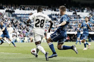 Vinicius Jr., clave en la Copa del Rey   Foto: Real Madrid CF