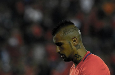 The Chileans will be with their heads down after failing to find the back of the net on Tuesday night. | Photo: Agencia Uno
