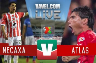 Resultado y goles del Necaxa 1-1 Atlas de la Liga Mx 2017