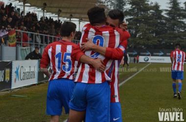 El Atlético B se reencuentra con la victoria y el liderato