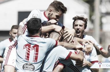 El filial celeste jugará el playoff de ascenso a Segunda. Foto: RC Celta