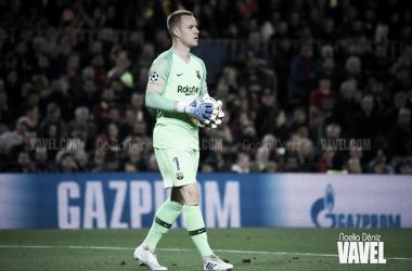 Imagen de Ter Stegen, portero del FC Barcelona. FOTO: Noelia Déniz.
