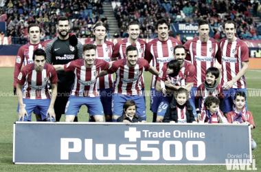 Alineación del Atlético de Madrid frente al Leganés | Imagen: Daniel Nieto (VAVEL España)