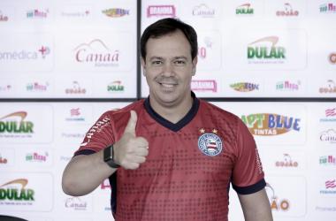 Dado Cavalcanti, técnico do time de Transição do Bahia (Foto: Felipe Oliveira / EC Bahia)