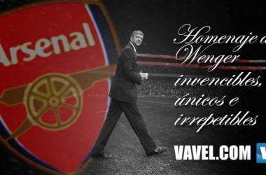Homenaje a Wenger: invencibles, únicos e irrepetibles