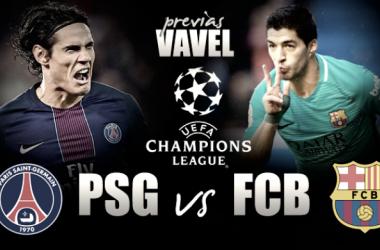 Previa Paris Saint Germain - FC Barcelona: choque de trenes