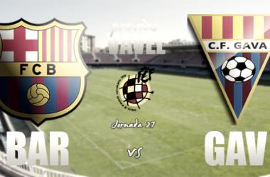 FC Barcelona B y Gavà se medirán en un encuentro en el que ambos tratarán de seguir con sus rachas de victorias | Foto VAVEL: Ernesto Aradilla