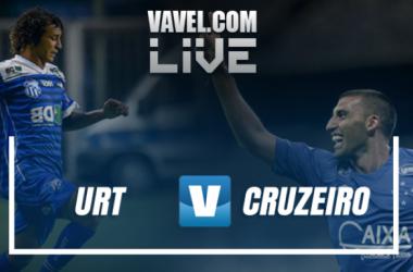 Resultado URT x Cruzeiro pelo Campeonato Mineiro 2017 (1-1)