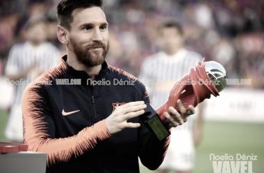 Leo Messi, mejor jugador de la competición en el mes de abril | Foto de Noelia Déniz, VAVEL