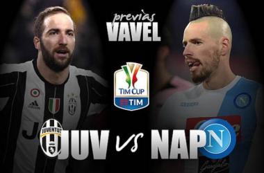 Juventus e Napoli se enfrentam pela primeira semifinal da Copa Itália