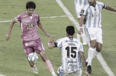 Último enfrentamiento 30/11/2020- Atlético Tucumán 3- Arsenal 2