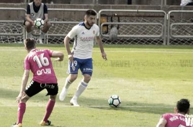 Giorgi Papunashvili ha sido elegido el mejor del partido por la afición | Foto: Andrea Royo, VAVEL